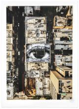 JR - Estampe-Multiple - Migrants, Mayra, Eye in the Lower East Side - New York City