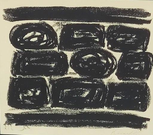 Jannis KOUNELLIS - Disegno Acquarello - Senza titolo