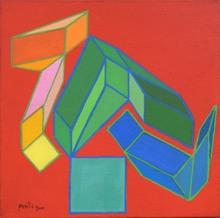 Achille PERILLI - Peinture - Opimo