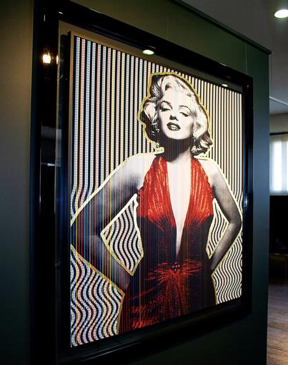 Patrick RUBINSTEIN - Pintura - Marilyn is So Wiggly