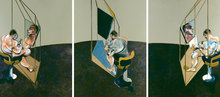 Francis BACON (1909-1992) - Three Studies of a Male Back