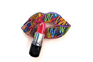 David GERSTEIN - Escultura - Lipstick