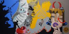 Myriam BAUDIN - Peinture - Mythographe symboliste