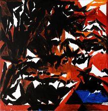 Sayed Haider RAZA - Pintura - Tarpan, 1998
