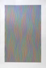 Bridget RILEY - Print-Multiple - Elapse, 1982
