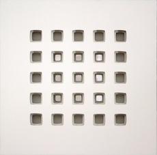 Vanna NICOLOTTI - Painting - mandala bianco