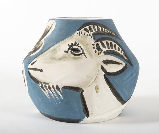 Pablo PICASSO - Céramique - Vase avec chèvres, (A.R.157)