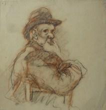 Marcel ARNAUD (1877-1956) - Portrait présumé de Joseph Ravaisou