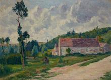 Maximilien LUCE (1858-1941) - La ferme d'Ezeaux, à Chab - Saint - Mars