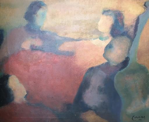 Victor CASAS - Pintura - En volandas