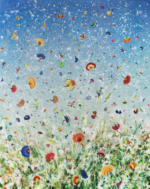 Thierry FEUZ - Painting - Silent Winds Arcadia