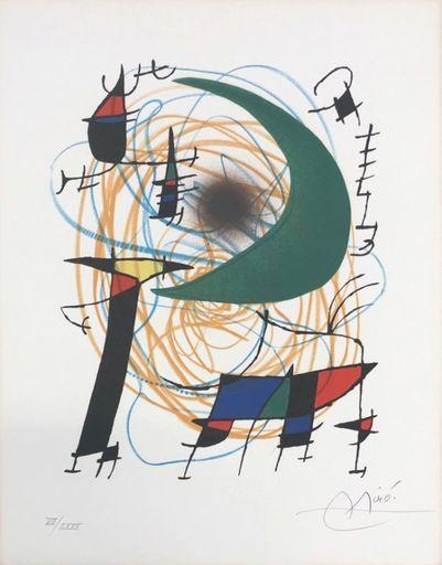 Joan MIRO - Print-Multiple - Miro Lithographe I planche 7