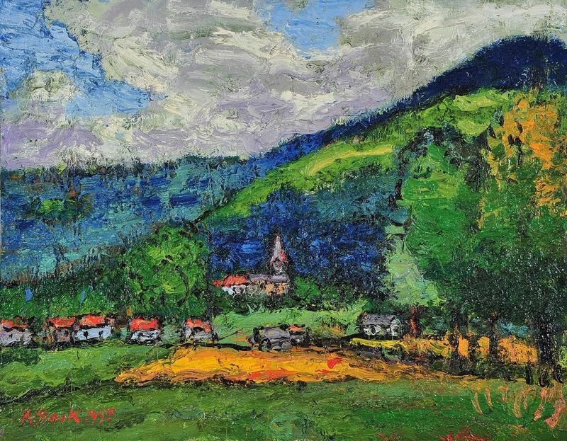 Karl STARK - Pittura - Radlach