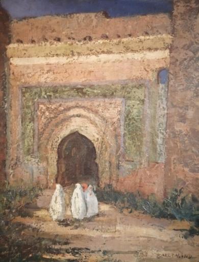 Louis LALLEMAND - Painting - Trois femmes voilées