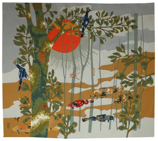 René FUMERON - Tapestry - Picota