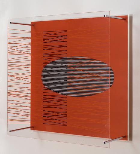 Jesús Rafael SOTO - Estampe-Multiple - Ovalo en el rojo