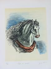 乔治•德•基里科 - 版画 - Testa di cavallo