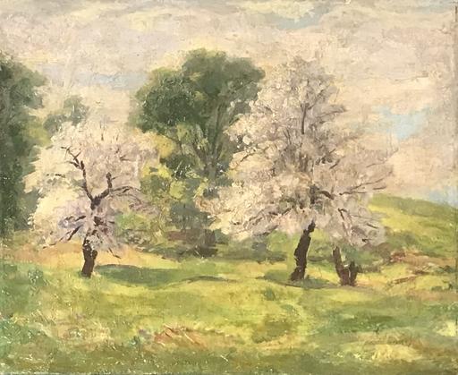 Everett Longley WARNER - Painting - Spring Blossoms