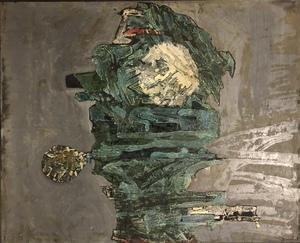 François ARNAL - Painting - L'enfant bleu