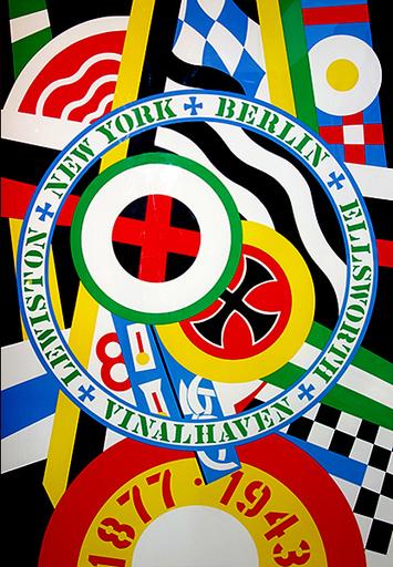 Robert INDIANA - Print-Multiple - The Hartley Elegies: The Berlin Series- KvF IV