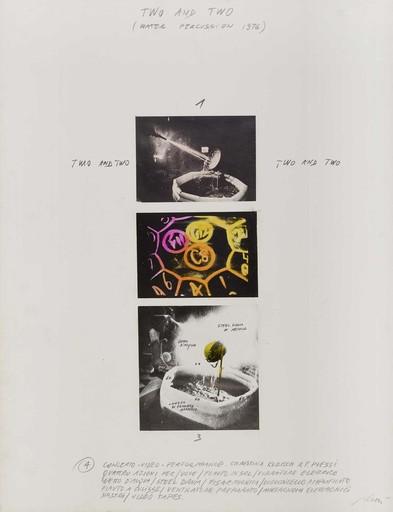 Fabrizio PLESSI - Pintura - Two and two. Water percussion,