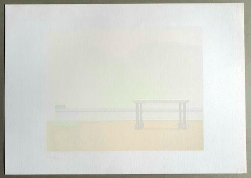Antonio CALDERARA - Estampe-Multiple - Paesaggio
