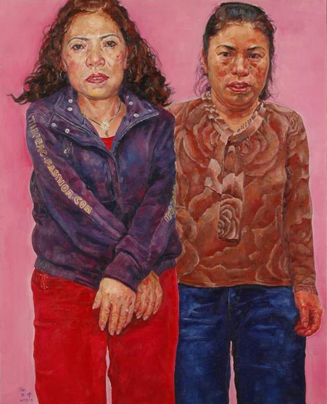 SHEN Hua - Pintura - Manual Workers Series N°16