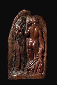 Georges LACOMBE - Sculpture-Volume - Mauvais conseil
