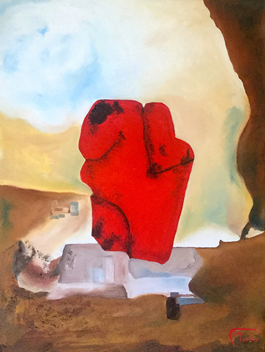 Francis MOREAU - Peinture - Que restera-t-il