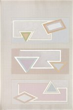 Frank STELLA - Estampe-Multiple - Pastel Stack