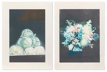 吕克•图伊曼斯 - 版画 - Peaches and Technicolor