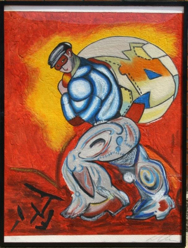 Sandro CHIA - Print-Multiple - The Thief