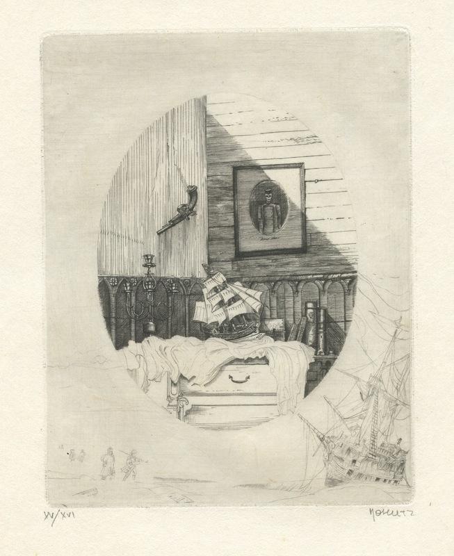 Philippe MOHLITZ - Print-Multiple - GRAVURE 1975 SIGNÉE CRAYON NUM/XVI HANDSIGNED NUMB ETCHING