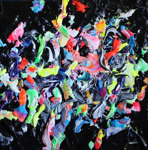 Nikolaos SHIZAS - Painting - NS 16 (Abstract painting)