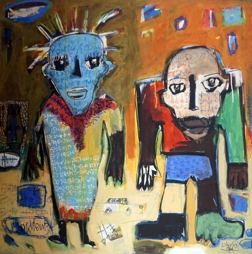 LIBY - Painting - En balade.