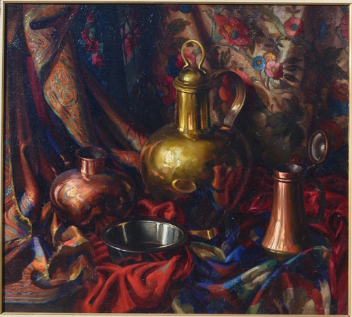 Frank Cohen KIRK - Painting