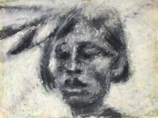 Arnold SHARRAD - Pintura - Indian Boy