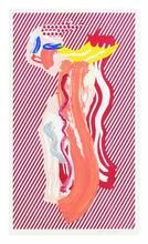 罗伊•利希滕斯坦 - 版画 - Nude from the Brushstroke Figures Series