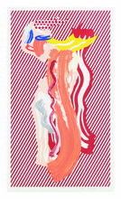 Roy LICHTENSTEIN - Print-Multiple - Nude from the Brushstroke Figures Series