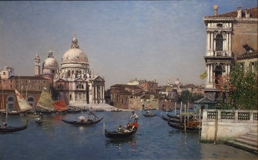 Martín RICO Y ORTEGA - Peinture - The Grand Canal Venice