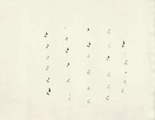 鲁西奥•芳塔纳 - 水彩作品 - Concetto Spaziale