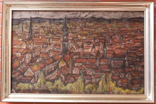 Janko ALEXY - Dibujo Acuarela - Bratislava