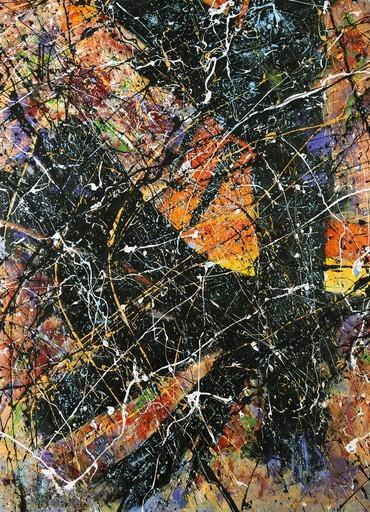 Jean-Jacques MARIE - Gemälde - Composition A405