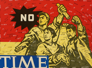 WANG Guangyi - Estampe-Multiple - No Time