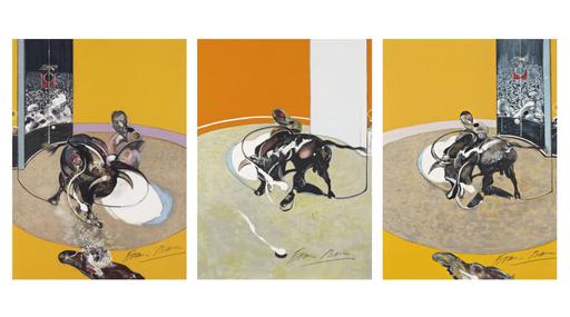 Francis BACON - Grabado - Triptyque de la Tauromachie