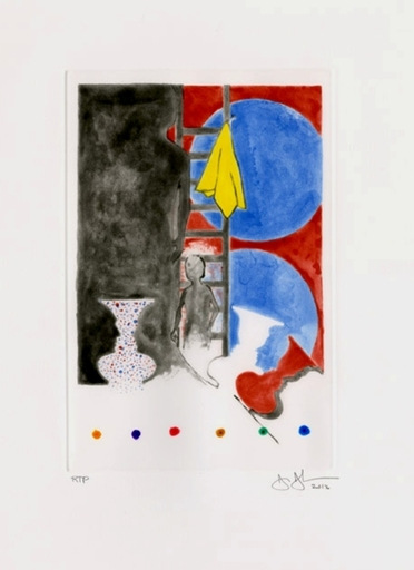 Jasper JOHNS - Print-Multiple - Untitled (2012)