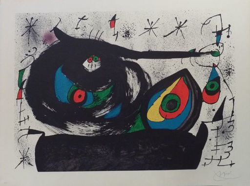 Joan MIRO - Estampe-Multiple - Sans titre