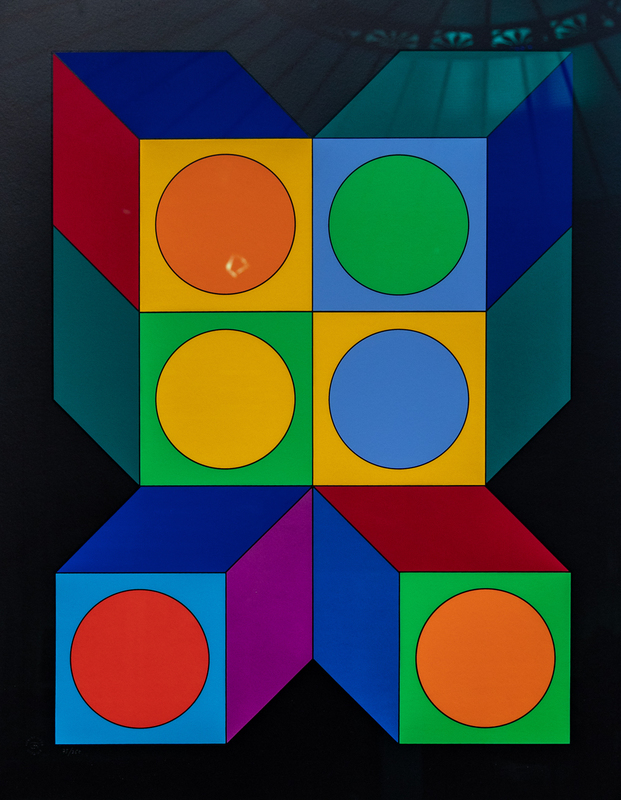 Victor VASARELY - Estampe-Multiple - XICO VY 29 C