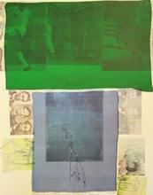 Robert RAUSCHENBERG - Print-Multiple - Shoot from the Main Stem