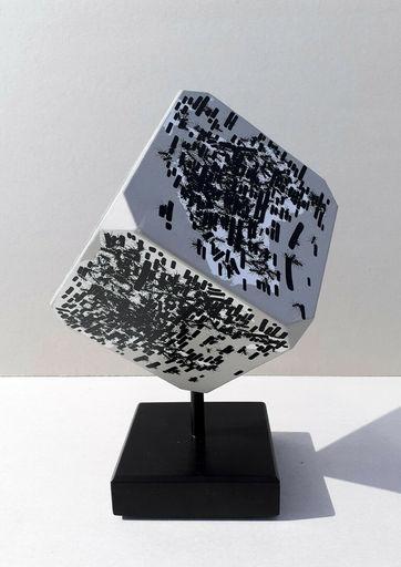 Emilio ISGRO - Skulptur Volumen - Mappamondo